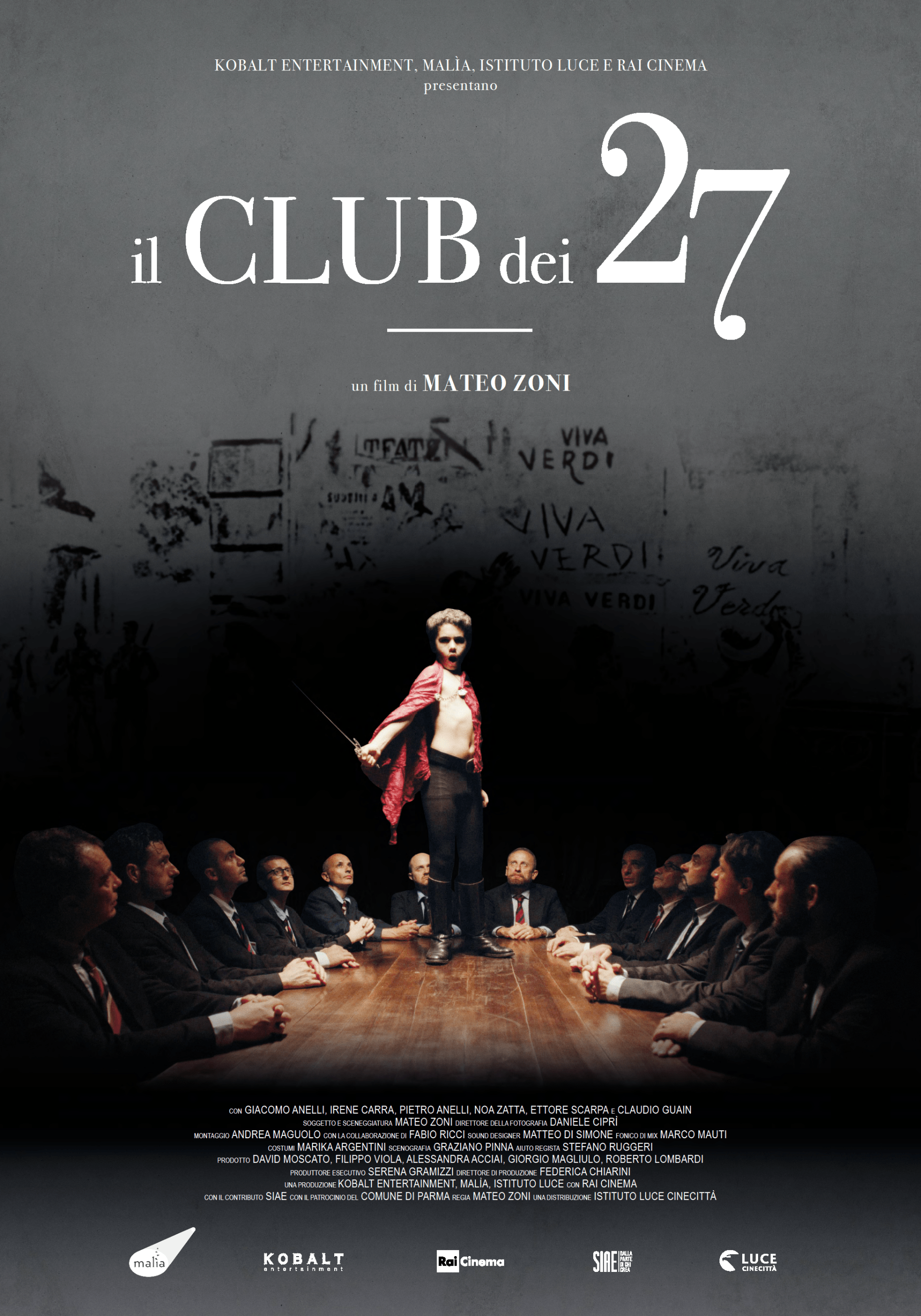 Il Club dei 27 - Locandina